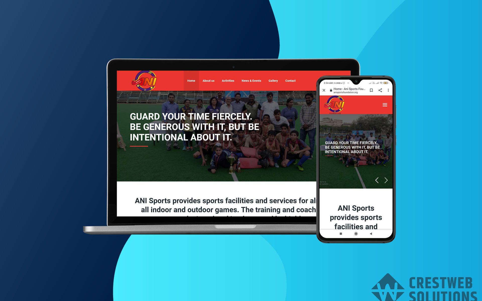 anisports-foundation-responsive-website-in-mumbai-crestweb-solutions