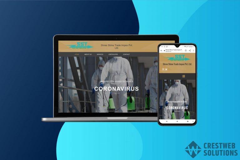 sstimpl responsive website in mumbai ecommerce crestweb solutions