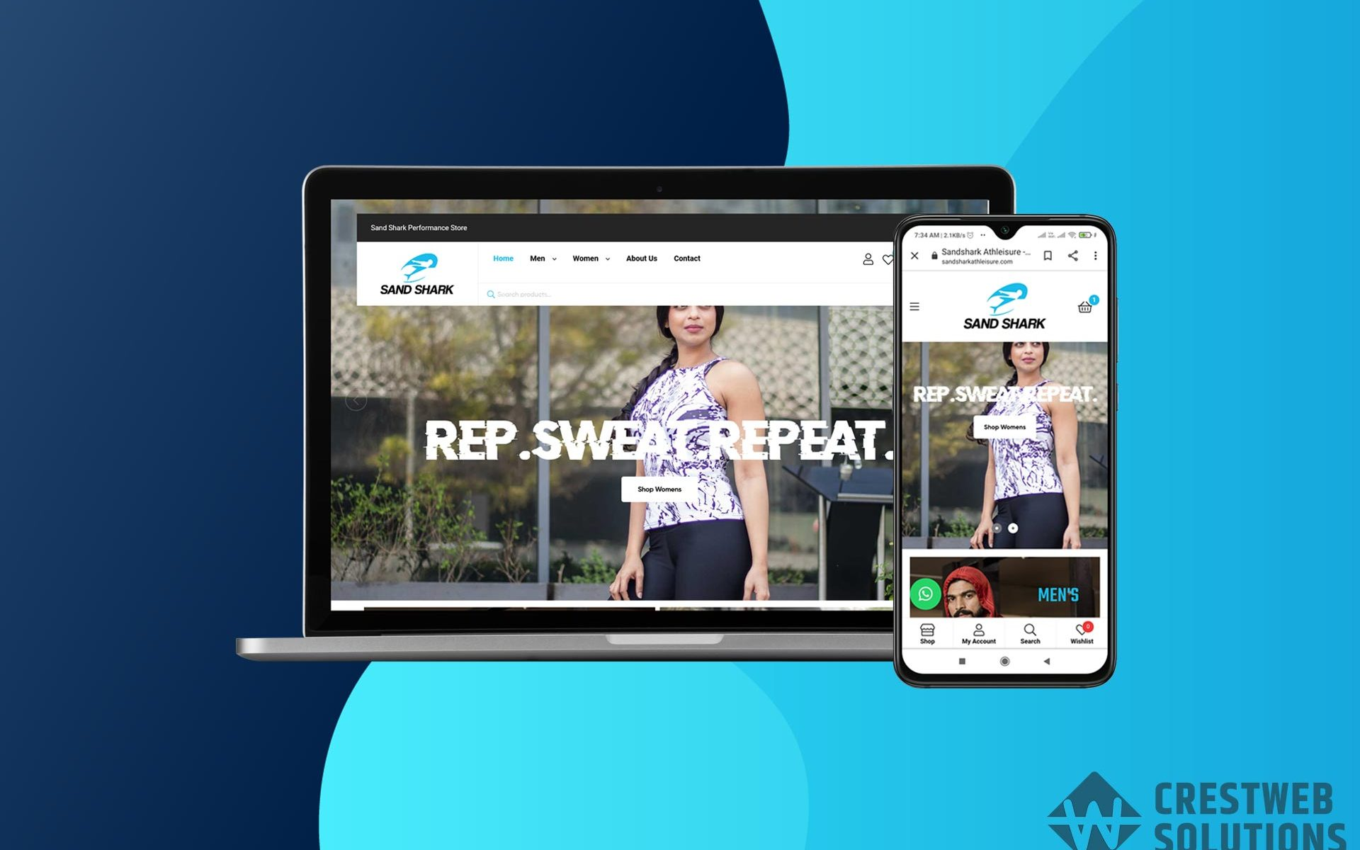 sandshark-athleisure-respionsive-website-in-mumbai-ecommerce-crestweb-solutions